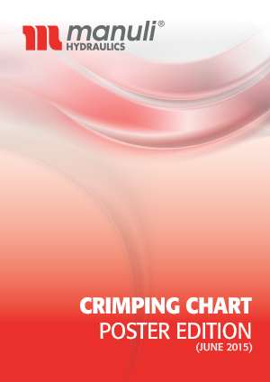 Crimping Chart for Manuli hoses and fittings - poster edition