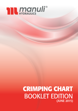 Crimping Chart for Manuli hoses and fittings - booklet edition