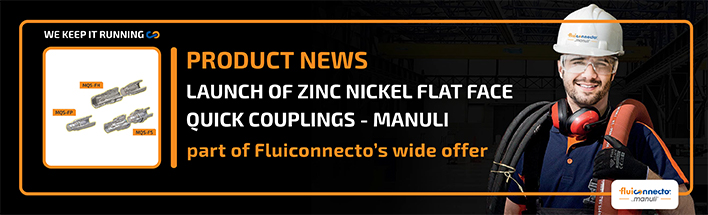 ZINC NICKEL FLAT FACE QUICK COUPLINGS 4